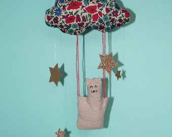Little mobile cloud cat star changing table