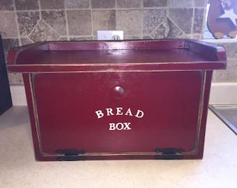 Primitive Bread Box