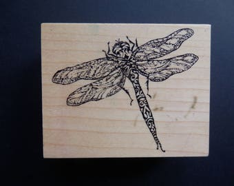 PSX F2870 - Dragonfly - Retired Rubber Stamp (1)