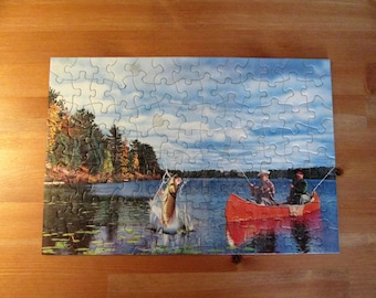 Tuco Picture Puzzle- The Fishing Puzzle With A Challenge-Fun Without Frustration