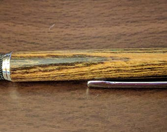 Bocote Wood Knurl GT Twist Pen