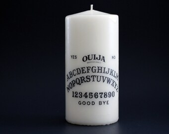 Ouija Candle - Ouija Board - Occult - Goth Candle