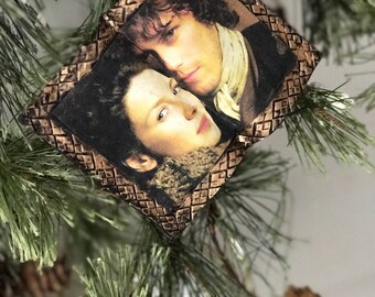 Outlander Book Ornament