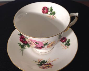 Queen Anne bone china tea cup
