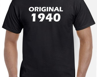 78th Birthday Shirt Gift-Original 1940