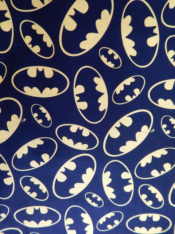 Batman action heros comic books pattern fabric cotton fabric zoom pronofoot35fo Gallery