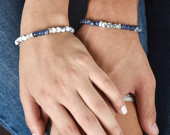 Couples Bracelets - His And Hers Bracelet - Matching Bracelets - Couples Gift - Wedding Gift - Anniversary Gift - Friendship Jewelry
