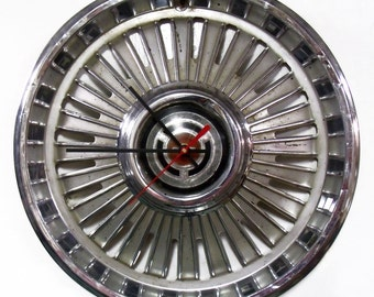 1965 Chevrolet Chevelle Wall Clock - Chevy El Camino Hubcap - Unique Mens Gift - Father's Day Gift