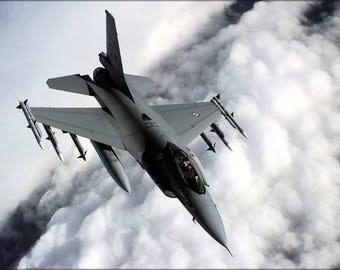 Poster, Many Sizes Available; Royal Norwegian Air Force F-16A Falcon