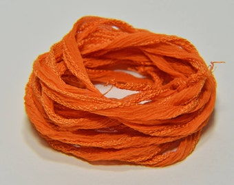 Ute Bernsen's Fairy Silk Ribbon--Burnt Orange