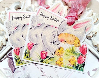 Baby girl parasol umbrella tags shabby chic baby shower favor tag happy easter tags 6 easter favor tags easter treat tags easter gift tags shabby gift tags shabby easter tags bunny tags vintage easter tag negle Choice Image