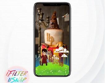 Harry Potter Snapchat Filter