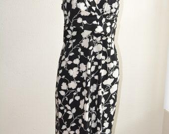 Vintage 50's style Donna Ricco floral halter dress