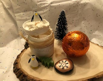Orange chocolate truffle body butter