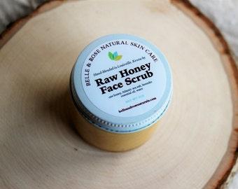 Travel Size Raw Honey Face Scrub