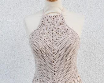 Crochet Halter, Crochet Halter Crop Top, Crochet Crop Top, Crochet Crop Top Women, Crochet Crop Top Festival, Hippie Crop Top, Crop Tops