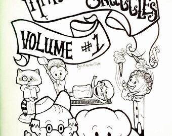 Harold and Snuggles Comic