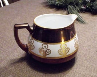Antique Bavarian Lemonade Pitcher Z S & Co., signed O C L