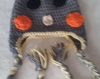 Crocheted Coockatiel Hat