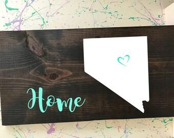 Nevada Home Plaque