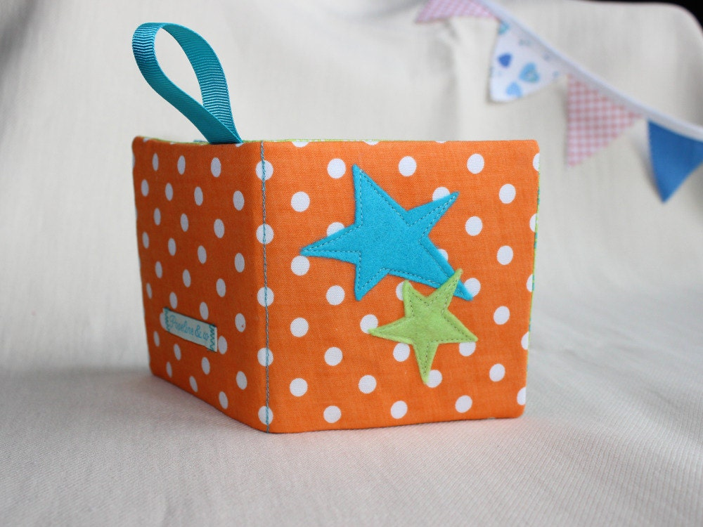 Quiet Book Fabric Busy Montessori Baby Sensory Toys