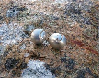 Silver Celtic Bird Earrings