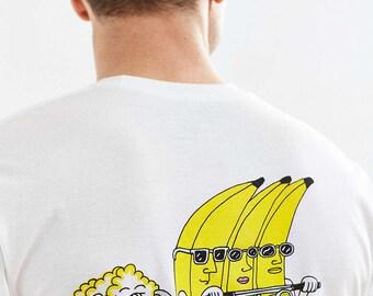 Banana Riders Tshirt (white)