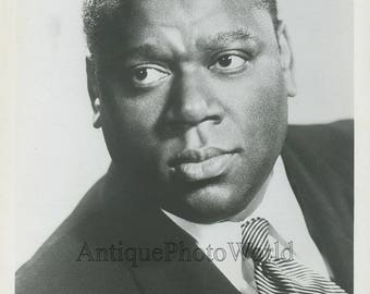 William Warfield black singer antique photo