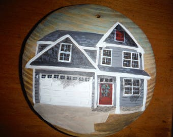 House rendering ornament