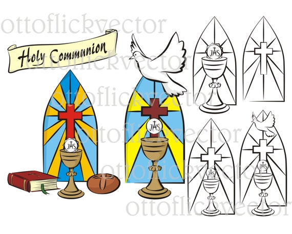 Holy Communion Vector Clipart Eps Ai Cdr Png Jpg Background