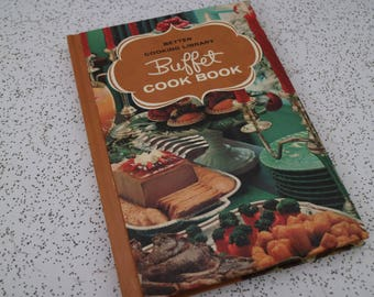 1960s vintage buffet cook book