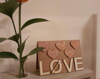 Love Card   3D Love