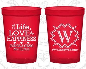 Transparent Red Stadium Cups, Transparent Red Cups, Transparent Red Party Cups, Transparent Red Wedding Cups (553)
