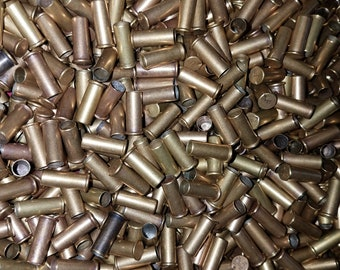 Empty 22 Long Rifle Bullet Casings - .22 Caliber Long Rifle Rim Fire Casings - Jewelry Making - Crafts