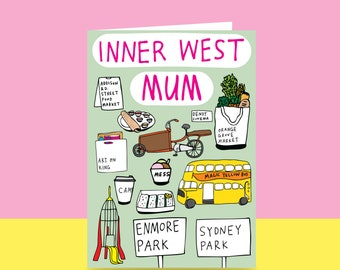 Mother's Day Card - Inner West Mum (Sydney)