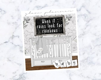 PRE-SALE! Baby Boy Double Box (Glam Planner Stickers for Erin Condren Life Planner)