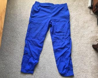 Men's Vintage 90s Reebok Windbreaker Insulated Sweatpants Size Xl
