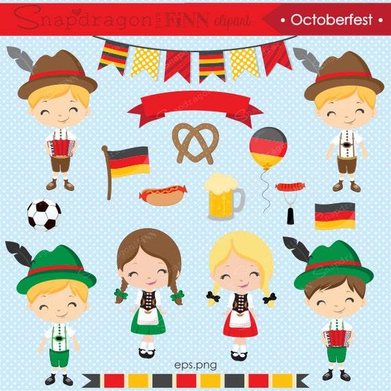 octoberfest clipart german clipart german kids clipart cute rh etsy com german shepherd clipart german shepherd clipart