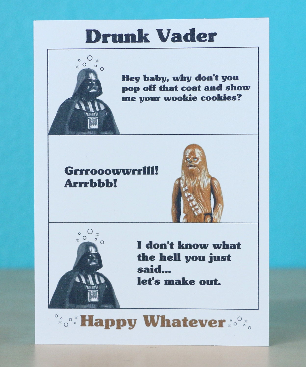 Star wars darth vader birthday card any occasion anniversary zoom bookmarktalkfo Choice Image