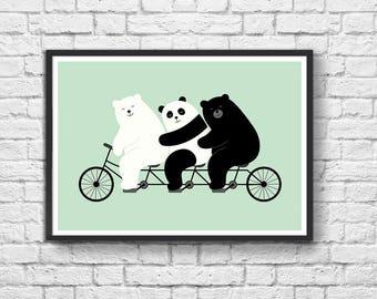 Art-Poster 50 x 70 cm - Family Time
