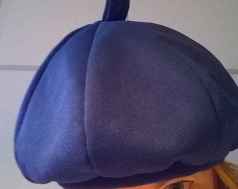 Hat Blue Beanie Lined