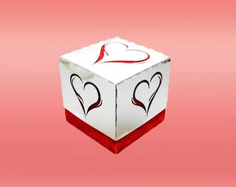 Elegant Heart Gift Box DIGITAL download