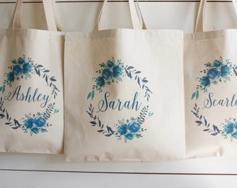 Bridesmaid Bags, Bridesmaid Tote Bags,Bridesmaid Bag,Wedding Tote Bags, Bridal Party Gifts,Bride,Wedding Gift, Custom Tote Bag,Bachlorette