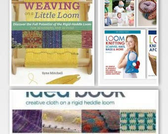 Weaving Books All Types - Rigid Heddle, Inkle, Tapestry Super Fast Shipping!