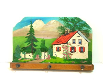 Vintage Cottage Key Rack