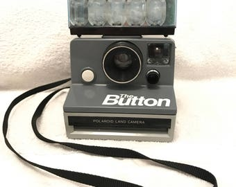 Vintage Polaroid Land Camera The Button