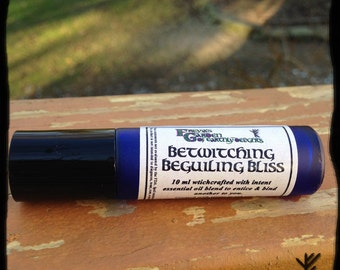 Love Ritual Oil, Bewitching Beguiling Bliss Oil, Love Oil, Binding Love Oil, Pagan Ritual Oil, Traditional Witchcraft, Wiccan, Hoodo,Roll-on