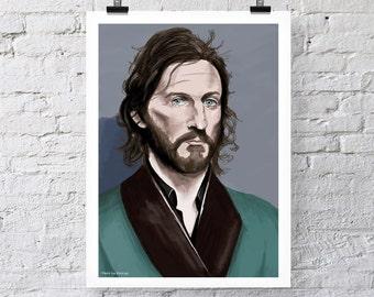 Tim Rogers Print Wall Art poster