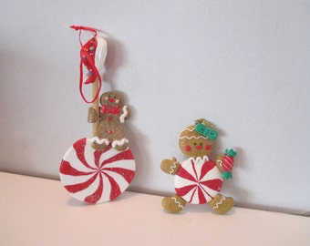 Gingerbread Ornaments, Christmas Ornaments, Gingerbread Collection, Holiday Decorations, Christmas Gingerbread Kitchen