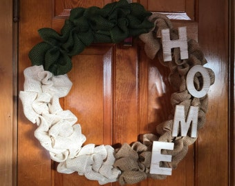 Military Home Wreath